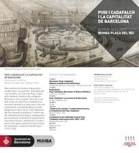 """Tres professors del departament al Seminari """"Puig i Cadafalch i la capitalitat de Barcelona"""" (MUHBA)"""